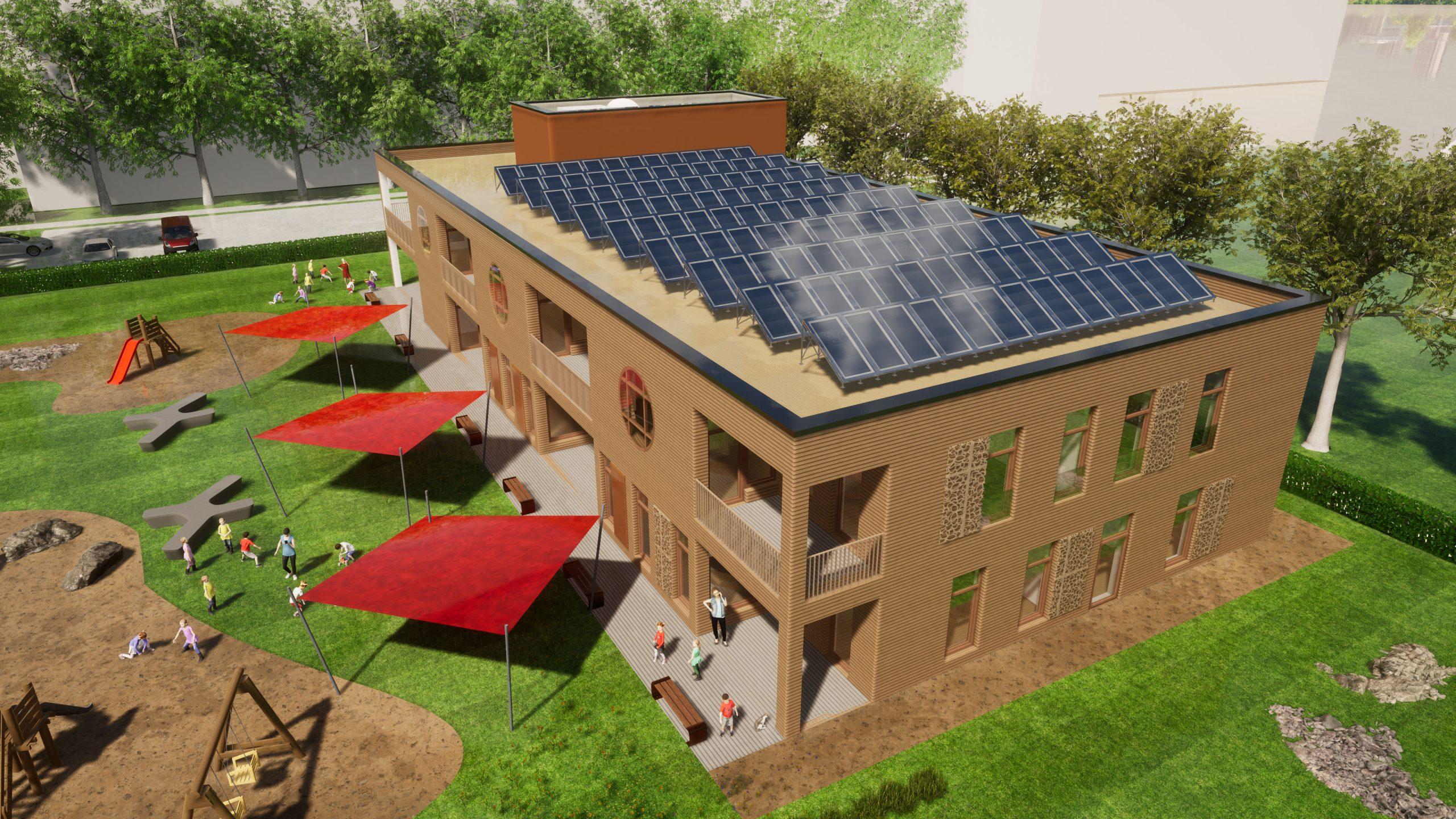 Baustart für neue Kita in der Nachbarschaft
