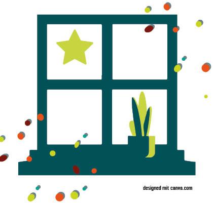 """Fenstergalerie """"Tape Art"""""""